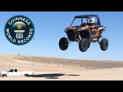 SPOTLIGHT - Longest UTV ramp jump