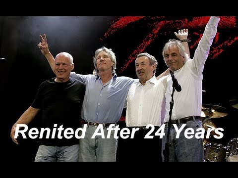Roger Waters gets Pink Floyd Reunited