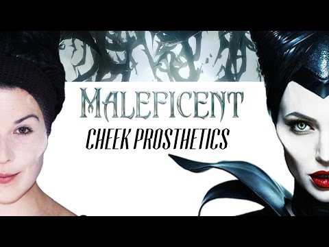 Maleficent Cheekbones Prosthetic Tutorial - Cosplay Class