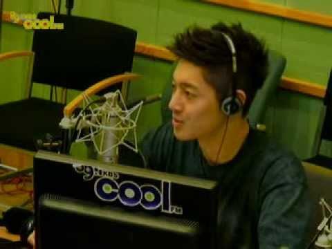 [20110613] Kim Hyun Joong @Radio CKH Increase volume part1/4
