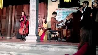 Violincello Piano vs Đàn Tranh (đàn thập lục) Bèo Dạt Mây Trôi Hoa Thơm Bướm Lượn