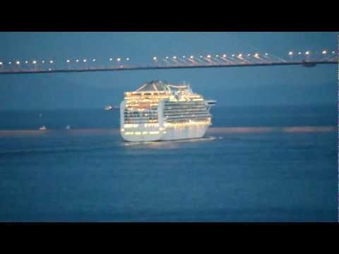 Superliner «Diamond Princess» left Vladivostok