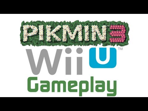Pikmin 3 - Gameplay E3 Demo Walkthrough Miyamoto [HD]