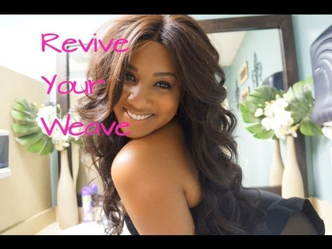How To: Revive Your Weave & Fix Damaged hair