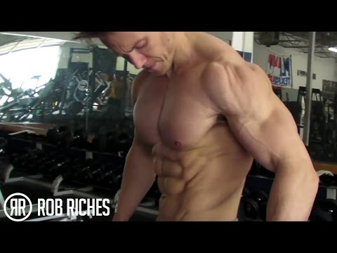 Rob Riches Chest Workout