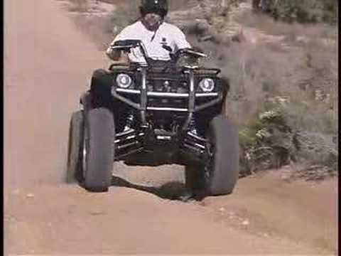 ATV Television Project - Yamaha Grizzly 660 Video