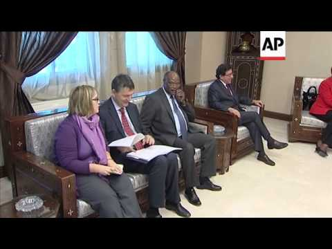 UN humanitarian chief Valerie Amos meets Syrian FM