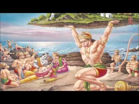 Hanuman Chalisa By Lata Mangeshkar with Hindi English Lyrics I Full Video Song