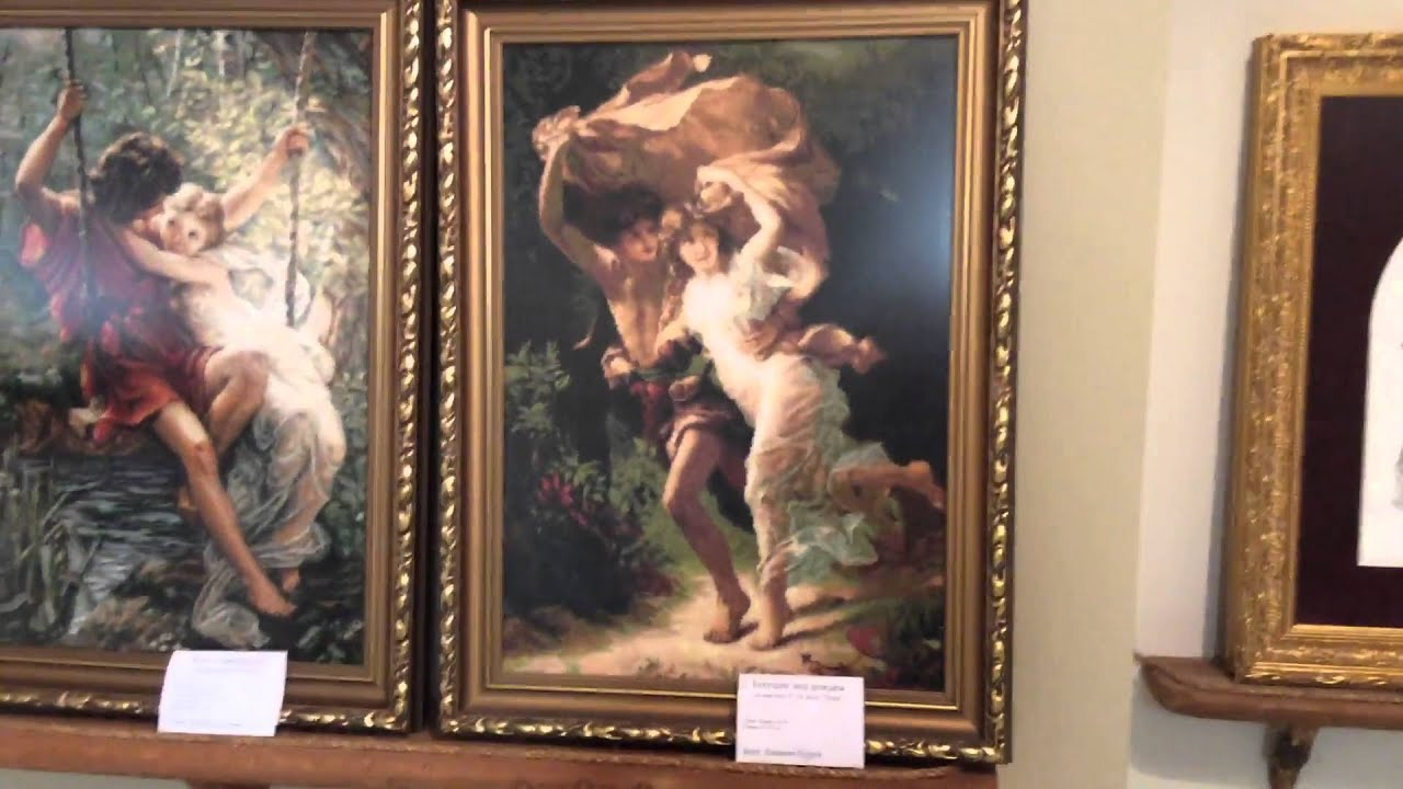 Вышивка крестом выставки готовых работ 77
