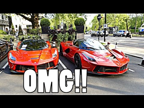 THE LONDON SUPERCAR SEASON BEGINS: 2x LAFERRARI!