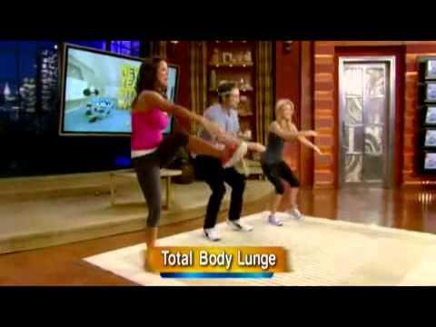 Kelly fitness, 4.01.2012. David Duchovny