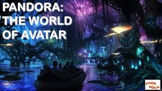 Pandora - The World of Avatar - making-of da nova área do Animal Kingdom