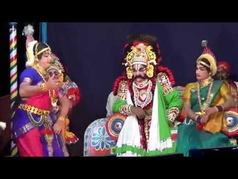 Yakshagana -- ಪಾದ ಪ್ರತೀಕ್ಷಾ - 1 - Santhosh Kumar Hiliyana As Shree video