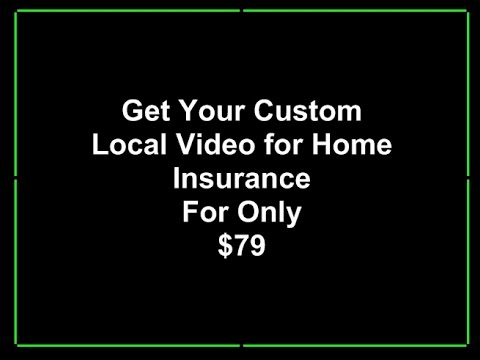 Home Insurance Agents - Custom Local Business Video