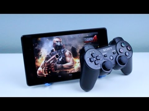 Use a PS3 Controller with your New Nexus 7 FHD 2013   Tutorial *NO ROOT*