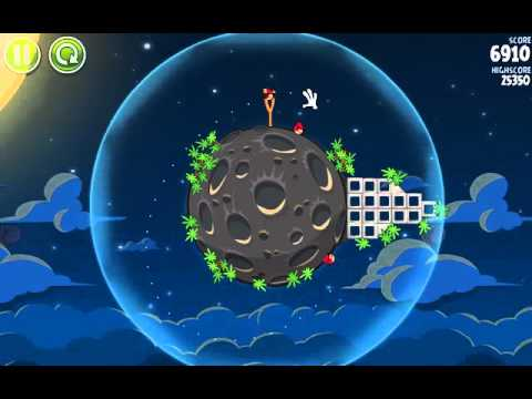 The first 5 levels in the new Angry Birds Space..mov