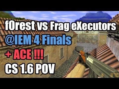 POV: f0rest vs. Frag eXecutors @IEM 4 fnatic CS 1.6 Demo ACE