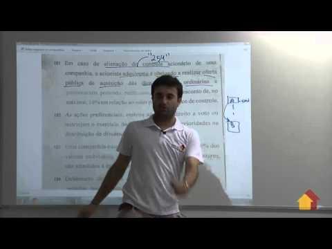 A Casa Do Concurseiro - Correção De Prova: Cef - Edgar Abreu video