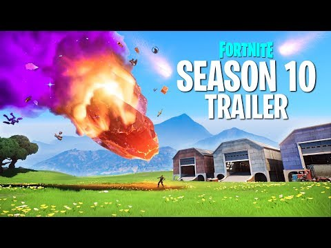 New FORTNITE SEASON 10 TRAILER featuring BATTLE PASS Skins and MAP CHANGES!! (Season X)