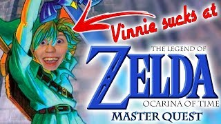 Vinnie sucks at Zelda: Ocarina of Time MASTER'S QUEST [#3]