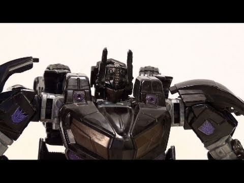 Video Review of the LATFCC Exclusive; Custom War for Cybertron; Nemesis Prime