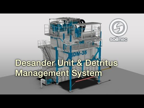 Soilmec SMT 500 SDM 35 Desander Unit & Detritus Management System