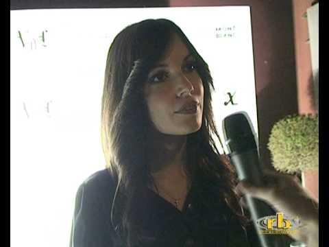 MICHELA QUATTROCIOCCHE intervista (VDL Collezione Spring/Summer 2009) – WWW.RBCASTING.COM