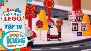 Đồ Chơi Lego - Tập 10 - Thị Trấn Xe Lửa | Toys Review