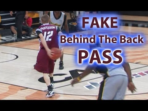 Fake Behind The Back Pass!