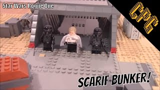 Lego Rogue One Bunker On  Scarif MOC Closeup!