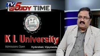 KLU University | Various Courses Offered By KLU University | Study Time