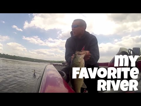 Potomac River, Virginia/Maryland May 2013 One of my favorite ways to catch fish on the river is the chatterbait. Here are a few chatterbait fish from the spr...