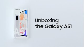 Galaxy A51: Official Unboxing | Samsung