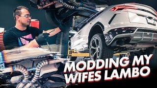 MODDING MY WIFES LAMBORGHINI
