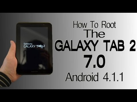 How To Root The Galaxy Tab 2 7.0 (Android 4.1.1)  *UPDATE* Works For 4.1.2 Also!