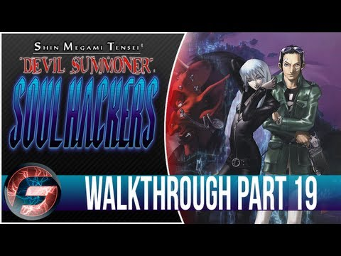 Shin Megami Tensei Devil Summoner Soul Hacker Walkthrough Part 19 [3DS]