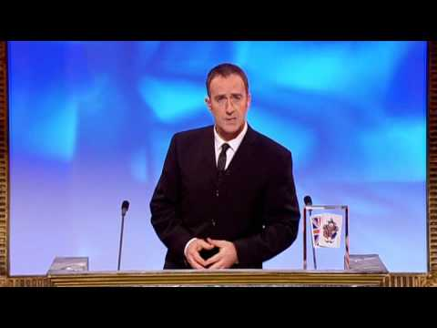 Angus Deayton makes jokes about Jonathan Ross