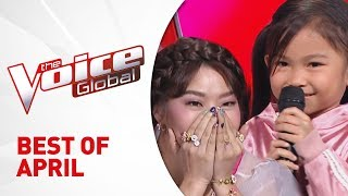 BEST of APRIL 2019 in The Voice Kids