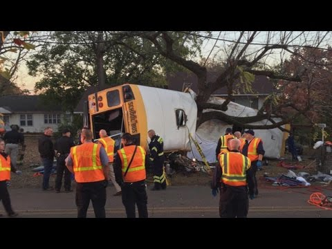 Multiple Children Reportedly Among the Dead in Horrific School Bus Crash
