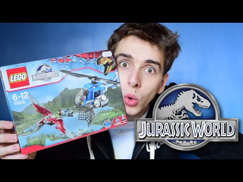 BIRD! - Pteranodon Capture Jurassic World Lego Set - Review/Build