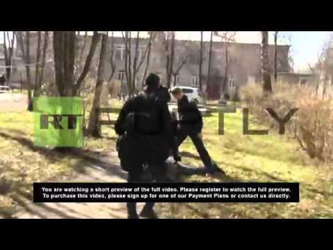 Russia: Special forces seize criminal group