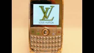 3 SIM Cards LOUIS VUITTON Blackberry style mobile phone