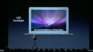 Macworld San Francisco 2008-The MacBook Air Intro (Pt. 1)