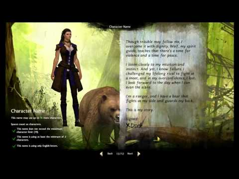 Guild Wars 2 BETA - Norn Ranger Gameplay - |1|