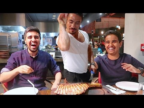 WORLD'S Famous NUSRET Salt Bae Experience In DUBAI !!!