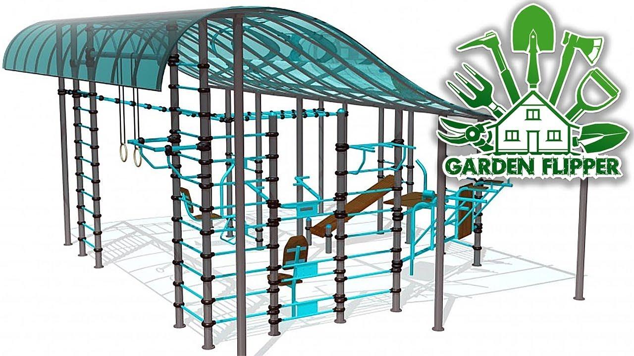 СПОРТИВНАЯ ПЛОЩАДКА ► Garden Flipper #8