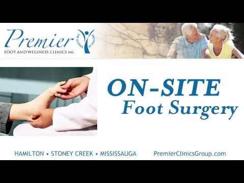 Premier Foot & Wellness Clinic - Foot Surgery On Site - Hamilton - 3-1300