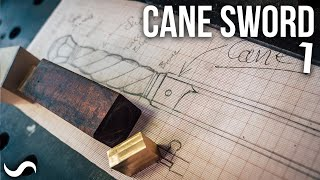 MAKING A CANE-SWORD!!! Part 1