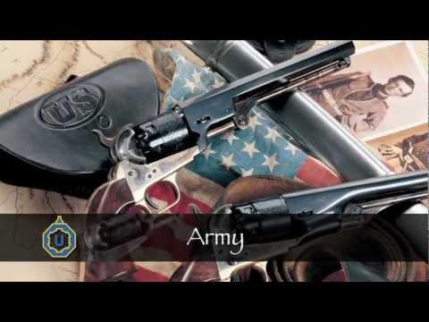 Uberti 1860 Army Black Powder Revolver
