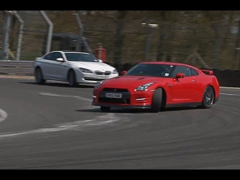 2013 Nissan GT-R vs Alpina B6 on track and road - autocar.co.uk